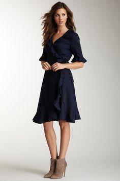 Great Plains Hummingbird Ruffled Dress by Dresses Under $30 on @HauteLook