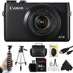 Canon PowerShot G7 X Digital Camera + Pixi-Advanced Accessory Bundle Pixibytes http://www.amazon.com/dp/B00RC4LMWC/ref=cm_sw_r_pi_dp_EznPub0SHZDWY