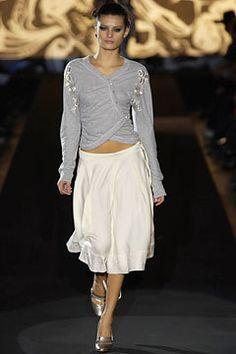 Antonio Berardi Fall 2002 Ready-to-Wear Fashion Show - Isabeli Fontana, Antonio Berardi