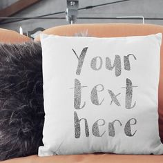 personalised frase or song lyrics on a pillow; custom message cushion in high quality Hand printed custom cushions, unique and personal christmas gifts  #christmasgifts #gifts #giftideas #giftsforwomen #giftsforhim #giftsforher #giftsformum #giftsfordad #giftsforgrandma #giftsforkids #kidsdecor #babygifts #babygirl #babyboy