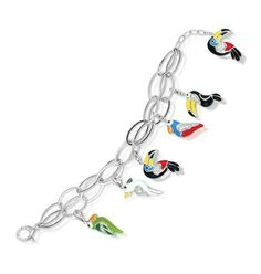 Belle Etoile Aviary Multi Bracelet NWT Size M in Diamond | eBay