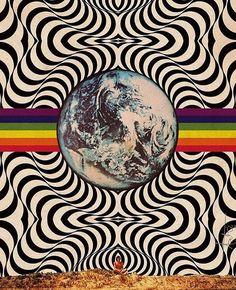 "Trippy on Instagram: ""You're alive my friend… So let's get high my friend… #trippy #trippyart #trippyartist #psychedelicart #trippyvibes #trippyviews…"" Psychedelic Art, Psychedelic Pattern, Trippy Drawings, Art Drawings, Trippy Painting, Trippy Wallpaper, Psy Art, Hippie Art, Dope Art"