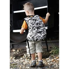 Cool camo pack for back to school!