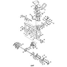 49 Best Get Parts For Your Craftsman Snow Blower images