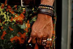 Pulseira, bracelets e cinturino de polso! #menstyle