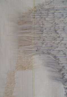Marianne Kemp | HCHWA-D: detail | horsehair + linen | Amsterdam, The Netherlands | 2014