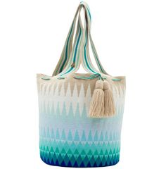 Exclusive SUSU Accessories collection Totes, handknitted by the most talented artisans of the Wayuu ethnicity in Colombia. Tapestry Bag, Tapestry Crochet, Seed Bead Patterns, Beading Patterns, Surfergirl Style, Hand Knit Bag, Crochet Handbags, Crochet Projects, Crochet Ideas