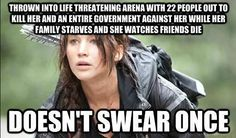 You're well-spoken. | Community Post: 23 Signs You're A Modern-Day Katniss Everdeen