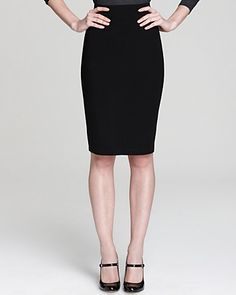 Eileen Fisher Fold Over Short Pencil Skirt- the best clothing investment I ever made