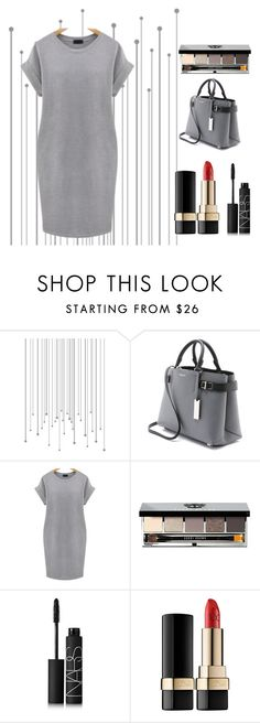 """""""Yes"""" by miz-watermelon on Polyvore featuring Michael Kors, Bobbi Brown Cosmetics, NARS Cosmetics, Dolce&Gabbana and plus size dresses"""