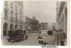 Gran Vía, Plaza de las Monjas.1955.