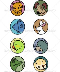 Realistic Graphic DOWNLOAD (.ai, .psd) :: http://realistic-graphics.xyz/pinterest-itmid-1000919067i.html ... Household Pets  ... <p>Icon collection of eight most common house pets</p> animals, cat, chameleon, cute, dog, ferret, fish, guinea, icons, lizard, macaw, nature, parrot, pets, pig, rabbit, veterinary  ... Realistic Photo Graphic Print Obejct Business Web Elements Illustration Design Templates ... DOWNLOAD :: http://realistic-graphics.xyz/pinterest-itmid-1000919067i.html