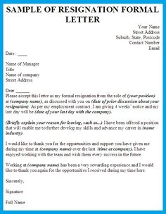 Example semi block style application letter business format pictures formal resignation letter check more at httpsnationalgriefawarenessday2370formal resignation letter spiritdancerdesigns Images