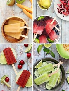 DIY Popsicle Recipes! Great for Summer!