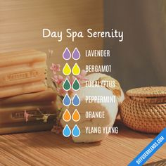 Day Spa Serenity - Essential Oil Diffuser Blend