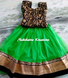 Kids in traditional attire from Nakshatra Kreations | SouthIndiaTrendz.com