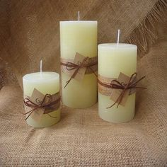 Fitness gift ideas [for beginners and freaks] Spring Wedding Centerpieces, Candle Centerpieces, Candle Lanterns, Unity Candle, Soy Wax Candles, Pillar Candles, Candle Making Supplies, Personalized Candles, Candle Magic