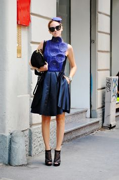 Chiara Ferragni, Milan #blogger #streetstyle