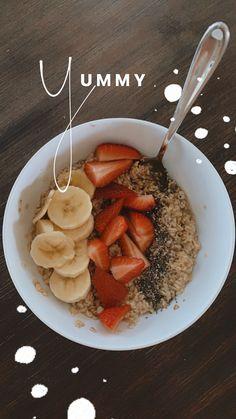Healthy Snacks, Healthy Eating, Healthy Recipes, Breakfast Healthy, Aesthetic Food, Love Food, Food Inspiration, Instagram Story, Instagram Ideas