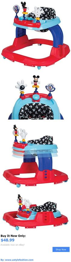 Baby walkers: Safety 1St Ready-Set-Walk Walker, Adjustable Height Baby Walker, Mickey Silo BUY IT NOW ONLY: $48.99 #ustylefashionBabywalkers OR #ustylefashion