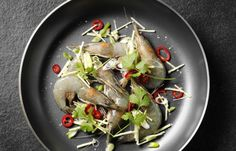 Selon les traditions du Nouvel An chinois, les crevettes = joie , alors on se régale !