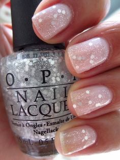 OPI Pirouette My Whistle over OPI Care To Dance ... I love this polish