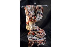 """Perfectly woven for the spring and summer months, this light-weight, open weave scarf is the ideal compliment to any outfit.  -Soft viscose fabric -70""""x25"""""""