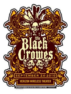 GigPosters.com - Black Crowes