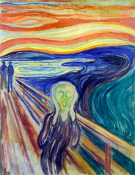 Edvard Munch's Scream, at the Munch Museum and the National Gallery!
