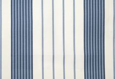 Refrain Striped Fabric Indigo   Threads Fascination Embroideries