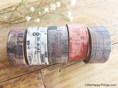 New  Sunny Sunday Original Washi Masking Tapes-Collage Series
