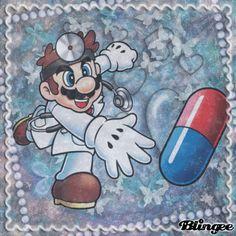 Mario throwing a vitamin pill Blingee by Laura C Super Smash Bros, Super Mario Bros, Mario Fan Art, Mario And Luigi, Paint Ideas, Thunder, Cartoon Characters, Nintendo, Art Pieces
