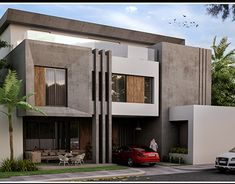 Modern Exterior House Designs, Best Modern House Design, Exterior Design, Architecture Building Design, Facade Design, Residential Architecture, House Window Design, House Front Design, My House Plans
