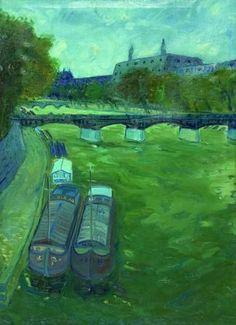 1. La storia inizia sulle rive del fiume Senna a Parigi durante l'anno 1951. Era una giornata estremamente verde...