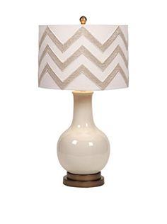 Hardy Chevron Shade Table Lamp