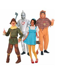 Cute group costume idea: Wizard of Oz! #shopko