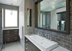 Salle de bain grise : 15 idées de décoration moderne !