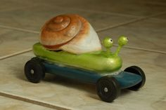 "Snail Pinewood Derby car - This is my inspiration for next year, I'm going to do one for myself. I'm planning to call it ""S-Car Go"" :D Cub Scouts, Girl Scouts, Awana Grand Prix Car Ideas, Pinewood Derby Cars, Scout Activities, Car Girls, Race Cars, Powder Puff, Cubs"
