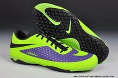 New Viola/Volt Nike HyperVenom Phelon Turf Soccer Cleats