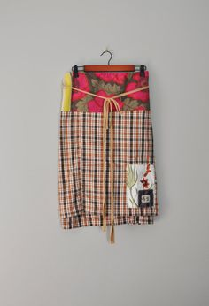 Upcycled Boho BeckyRose Wrap Skirt/Autumn Fall by RebirthRecycling, $55.00