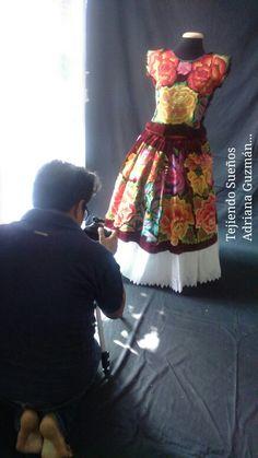 Sesión fotográfica a cargo de Juan Cortazar González  Tejiendo Sueños Adriana Guzmán...