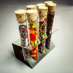 Test Tube Spice Rack | 10 Cool Ways To Use Scientific Glassware