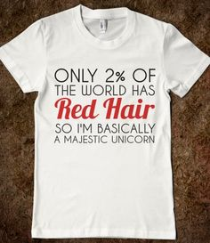 RED HAIR MAJESTIC UNICORN @Pamela Culligan Spiller  I want this for Christmas!!!!