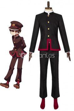Anime Jibaku shonen Hanako-kun Style Cosplay Wig Costume