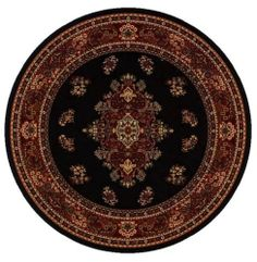 LA Rug Cosmos 1296/94 Rug 8Ft Rd by LA Rug. $137.69. 100% Polypropylene. Fire Retardant. Easy To Clean. Good Quality. 8Ft Rd Made out of 100% Polypropylene with Jute backing