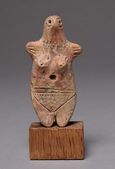 Ancient Cypriot Bronze Age Terracotta Idol 2700 BC