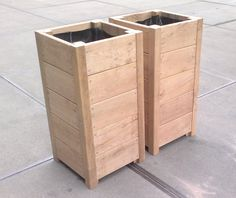 Furniture Projects, Wood Projects, Woodworking Projects, Planter Bench, Planter Boxes, Building Raised Beds, Wooden Planters, Garden Trellis, Garden Boxes