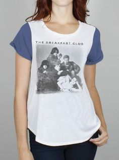 The Breakfast Club CoffeehouseColor Block Tee - Women's Collections - JF Designs - Junk Food Clothing