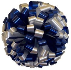 White Navy Blue Car Bows -- Read more reviews of the product by visiting the link on the image.