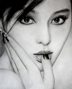 After being barraged by a slew of digitally manipulated images, it's rather refreshing to have a look at art made entirely by hand. Ken Lee is a budding portrait artist from the UK. His pencil portraits perfectly captures the essence of his subjects, be it sensuality, passion, or innocence. This is one new artist we definitely need to watch out for.